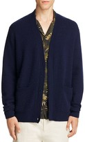 Vince Wool Cashmere Textured Cardigan