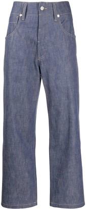 Sofie D'hoore Pingu high-rise straight jeans