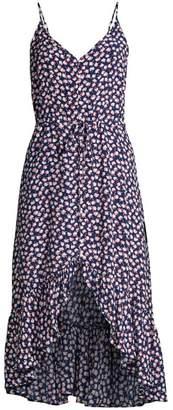 Rails Frida Ditsy Floral High-Low Midi Dress
