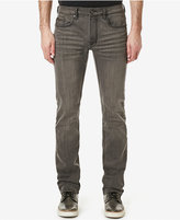 Buffalo David Bitton Men's Evan-X Slim Fit Stretch Sanded Medium Gray Jeans, A Macy's Exclusive Style