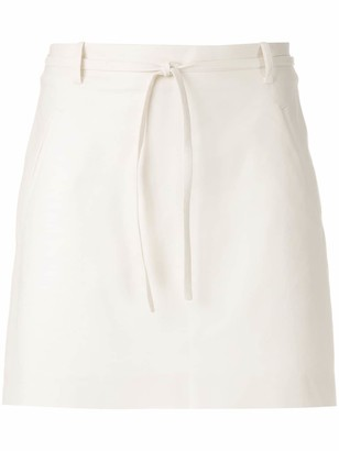 Egrey short A-line skirt