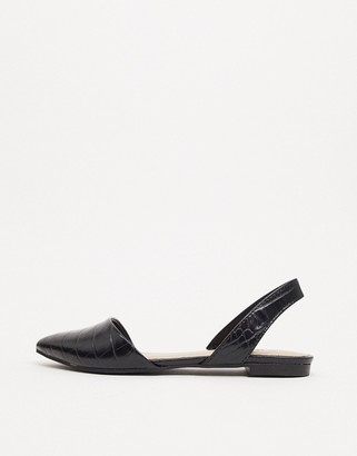 Call it SPRING by ALDO Pippen vegan slingback shoes in black