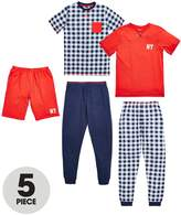 Very Boys Wake Up Awesome Pyjamas (5 Piece)
