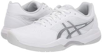 Asics Gel-Game 7 (White/Silver) Women's Tennis Shoes
