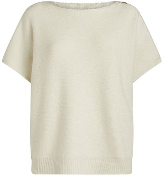 Fabiana Filippi Lurex Short-Sleeved Sweater