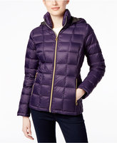 MICHAEL Michael Kors Hooded Packable Down Puffer Coat, Only at Macy's