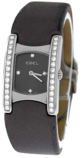 Ebel Beluga E9057A28-10 Stainless Steel & Diamond Quartz 19mm Womens Watch