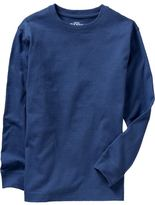 Boys Long-Sleeved Basic Tees