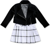 Sweet Heart Rose 2-Pc. Dress and Jacket Set, Toddler Girls (2T-5T)