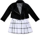 Sweet Heart Rose 2-Pc. Dress & Jacket Set, Little Girls (4-6X)