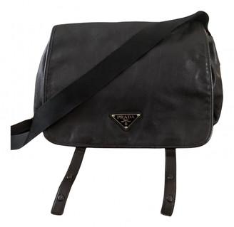 Prada Etiquette Black Leather Clutch bags