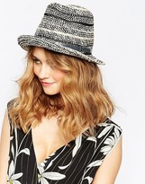 French Connection Trilby Hat