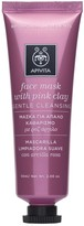 Apivita Face Mask With Pink Clay 50ml