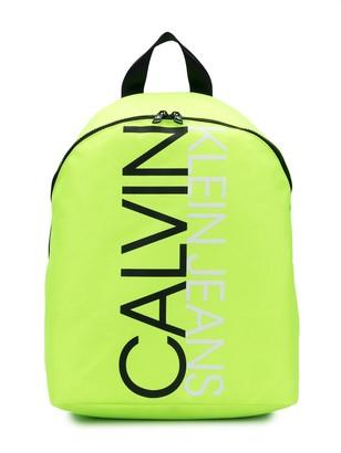Calvin Klein Kids Logo Print Backpack