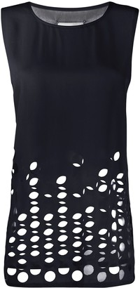 Maison Margiela Cut-Out Detail Sleeveless Top