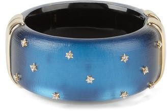 Alexis Bittar Spike Studded Large Hinge Bracelet
