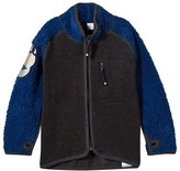 Molo Estate Blue Rock Fleece Jacket