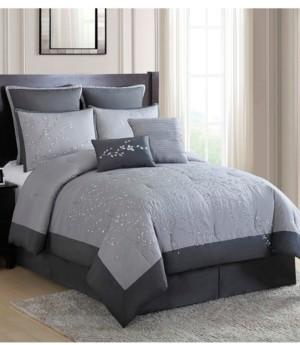Hamilton Hall Winnie Willow Branch 8-Pc. King Comforter Set Bedding