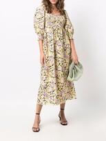 Thumbnail for your product : Rixo Saskia floral midi dress