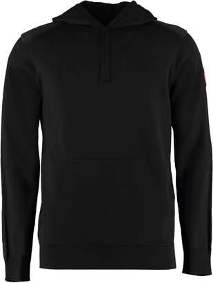 Amhrest Merino Wool Hooded Sweater