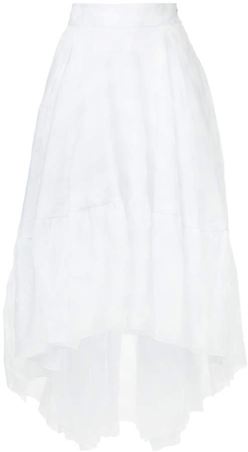 Antonio Berardi asymmetric layered skirt