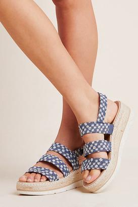 Dr. Scholl's Dottie Sport Sandals By in Blue Size 9