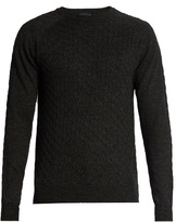 Lanvin Cable-knit Wool Sweater