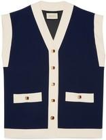 Gucci Cady viscose vest