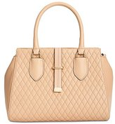 Calvin Klein Quilted Lamb Tote
