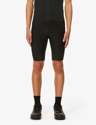 Rapha Core brand-print stretch-jersey cycling shorts