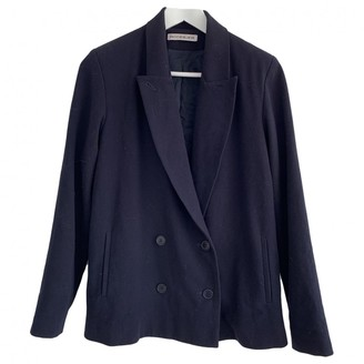 Rodebjer Blue Wool Jacket for Women
