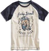 Lucky Brand Johnny Bear Tee