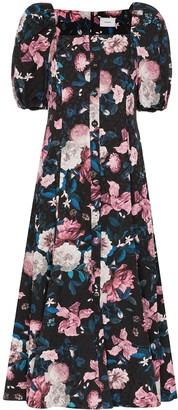 Erdem Mariona floral midi dress