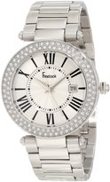 Freelook Women's HA1538M-4 All Shiny Dial Swarovski Bezel Watch