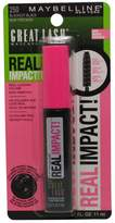 Maybelline 2 Pack Great Lash Real Impact! Mascara
