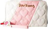 Betsey Johnson Split Decision Wallet Wallet Handbags
