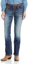 Ariat Women's Ruby Archway Low Rise Boot Cut Jean