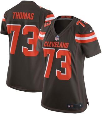 Nike Women's Joe Thomas Brown Cleveland Browns Game Jersey
