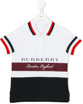 Burberry striped polo shirt - kids - Cotton - 8 yrs