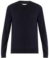 Maison Margiela Crew-neck fine-knit sweater