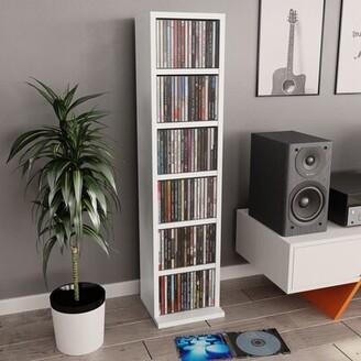 Latitude Run Multimedia Media Shelves Color: White
