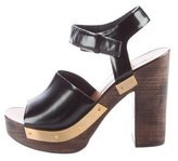 Rosetta Getty Platform Ankle Strap Sandals