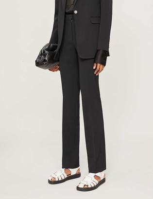 Joseph Cole mid-rise wool-toile trousers
