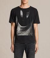 AllSaints Party Wave Crew T-shirt