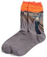 Hot Sox Women's The Scream Trouser Socks
