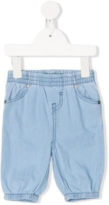 Stella Mccartney Kids Elasticated Denim Trousers