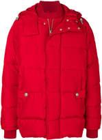 Versus oversized padded jacket