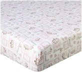 CoCalo Daniella Fitted Sheet - Icon Print