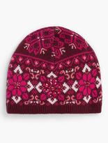 Talbots Medallion Fair Isle Hat
