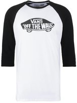Vans Long Sleeved Top White/black